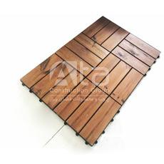 موزاییک ترمووود یا تایل چوبی